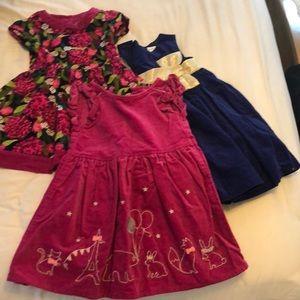 Girls Gymboree bundle dresses